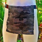 Shinobi Fundoshi Silk Linen blue camouflage03