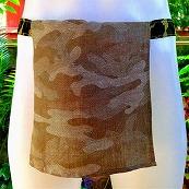 Shinobi Fundoshi Silk Linen green camouflage01