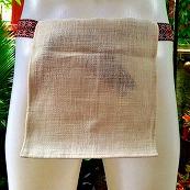 ふんどし手織綿白01