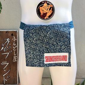 ふんどしアカ族藍染バティック綿01ロゴ
